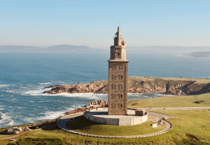 One of the most intact surviving Roman structures and the oldest lighthouse in the world the ancient Tower of Hercules