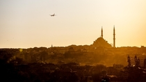 One of the most magical cities Ive visited - Istanbul at sunset