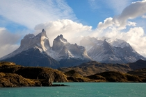 One of the most magnificent places on the planet Torres Del Paine Patagonia Chile  Photo by Michael George