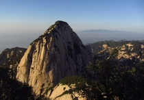 One of the peaks of Mt Hua China