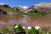 One of the smaller Willow Lakes Colorado
