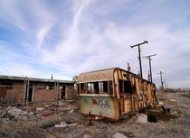 One of the strangest and probably most unhealthy locations in California Salton sea west shore OC x