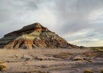 One of the Teepees at Petrified Forest National Park Arizona