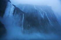 One of the wettest places on earth Milford Sound New Zealand OC x