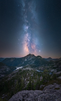 One star may seem insignificant when looking at the millions in the night sky but each is beautiful and needed Let you voice shine today and make sure to vote Alpine lake wilderness WA