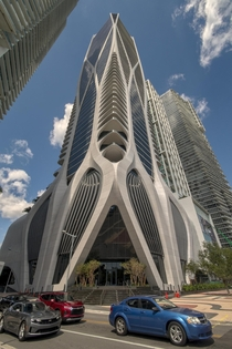 One Thousand Museum by Zaha Hadid Architects Miami