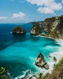 One year ago I saw the bluest water of my life Atuh Beach Nusa Penida Indonesia