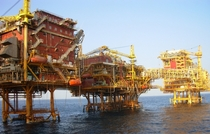 ONGC Oil and Gas Processing Platform