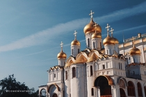 Onion Domes - Cathedral of the Annunciation Moscow  x  OC