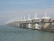 Oosterscheldekering - Netherlands Part of the massive Delta Project