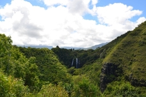 Opaekaa Falls Kauai Hiding in that lush valley