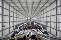 Opening ceremony of the new City-Tunnel in Leipzig Germany - Photo by Jan Woitas