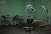 Operating Room of an Abandoned Hospital Texas