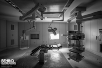 Operating theatre at the abandoned Hpital Civil de Charleroi Belgium