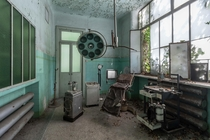 Operating theatre of an insane asylum Italy