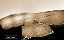 Opportunity at Perseverance Valley CreditNASAJPL-Caltech Kenneth Kremer