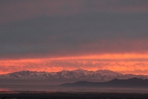 Oquirrh Mtns amp Antelope Island From my porch Layton UT