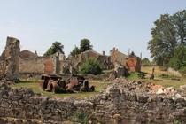 Oradour-sur-Glane France Abandoned in
