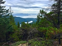 Orcas Island - On the trail to Mt Constitution