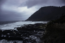 Oregons Stormy Coast