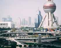Oriental Pearl Tower during daylight Shanghai China
