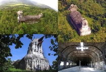 Originally posted by uGallowboob on rnextfuckinglevel Deep in the forests of Indonesia sits an abandoned church in the shape of a chicken