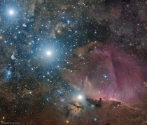 Orion Belt Flame and Horsehead