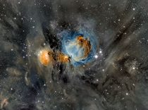 Orion Nebula in Surrounding Dust Over the next few million years much of Orions dust will be slowly consumed by the very stars now being formed or dispersed into the Galaxy