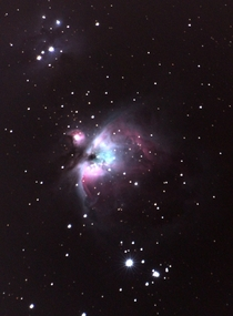 Orion Nebula M Using DSLR and Star Tracker