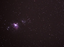 Orion Nebula  Shot from Wisconsin