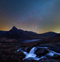 Orion over Snowdonia National Park UK