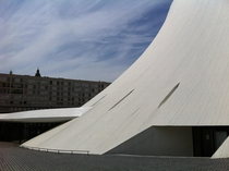 Oscar Niemeyer center in Le Havre France