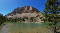 Ostler Lake Uinta Mountains UT