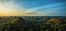 Otherworldly Chocolate Hills of the Philippines OC
