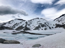 Otherworldly views over the top of Aasgard Pass the Enchantments WA