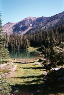 Our last backpacking trip to the Olympic National Park WA Picture   Took these shots with a disposable camera