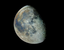 Our Moon in color