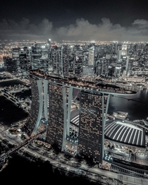 Our version of City Never Sleep - Marina Bay Sand
