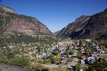 Ouray Colorado from US