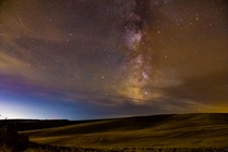 Out in the rolling wheat fields of the Palouse near the Idaho border I only had to walk a few hundred feet to uncover our galaxy