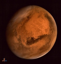 Out of the  currently active satellites orbiting around Mars Indias Mangalyaan is the only one stationed in an orbit from where it can capture the full disk of the planet in a single shot