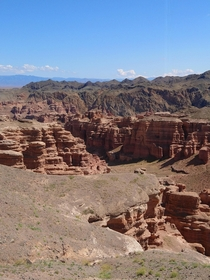 Out of this world experience at Sharyn Canyon Kazakhstan