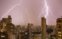 Outside my window this evening in Sao Paulo