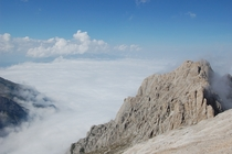 Over the clouds - Gran Sasso mountains Abruzzo Central Italy
