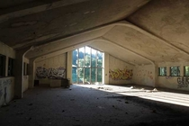 Over  years ago I took these pictures of an abandoned Jesuit University in the mountains It has now been recently turned into a parking lot for hikers I wanted to share it with all of you again to reminisce on the exploration of this place Album in commen