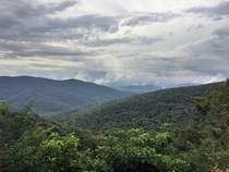 Overcast day in Shenandoah National Park Virginia OC