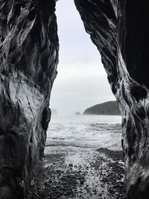 Overcast days on the olympic peninsula are still stunning