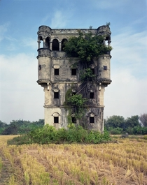 Overgrown th century villa in Guangdong China