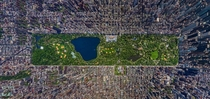 Overhead View of New York City