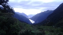 Overlooking Doubtful Sound New Zealand